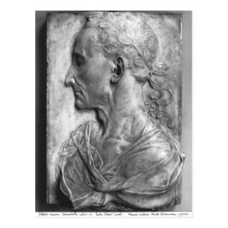 Portrait of Julius Caesar Postcard