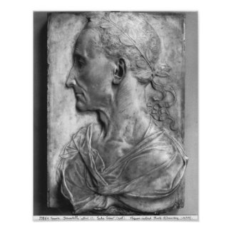 Portrait of Julius Caesar Poster