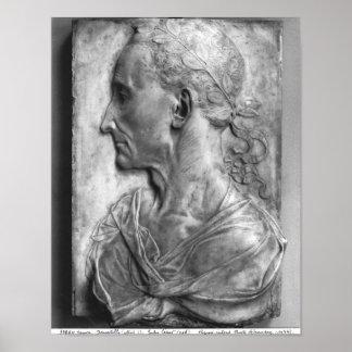 Portrait of Julius Caesar Poster