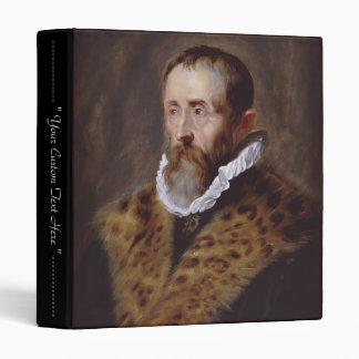 Portrait of Justus Lipsius Paul Peter Rubens 3 Ring Binder