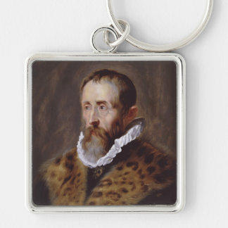 Portrait of Justus Lipsius Paul Peter Rubens Keychain