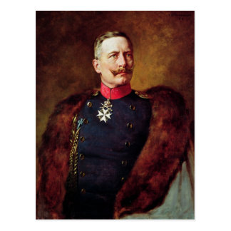 Portrait of Kaiser Wilhelm II Postcard