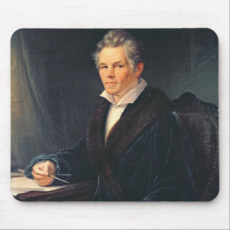 Portrait of Karl Friedrich Schinkel, c.1880 Mouse Pad