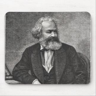 Portrait of Karl Marx  1857 Mouse Pad
