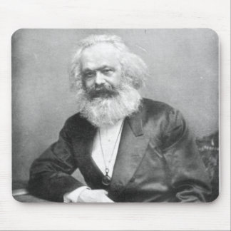 Portrait of Karl Marx Mouse Pad
