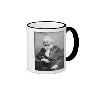 Portrait of Karl Marx Ringer Mug