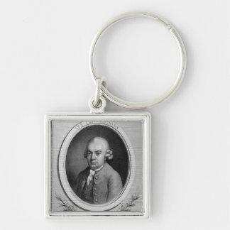 Portrait of Karl Philipp Emmanuel Bach Keychain