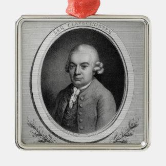 Portrait of Karl Philipp Emmanuel Bach Ornaments