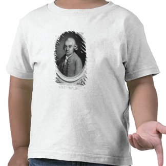 Portrait of Karl Philipp Emmanuel Bach T-shirt
