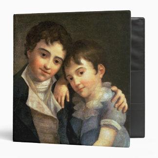Portrait of Karl Thomas  and Franz Xaver Binder