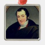 Portrait of Karl Thomas Mozart Christmas Tree Ornaments