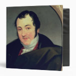 Portrait of Karl Thomas Mozart Vinyl Binders