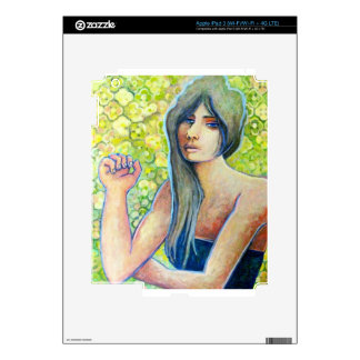 Portrait of Kat, Figure Art Products Skin For iPad 3