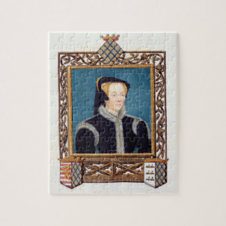 Portrait of Katherine Baroness Willoughby d'Eresby Jigsaw Puzzle