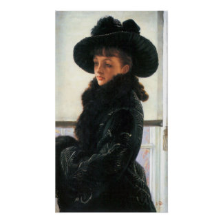 Portrait of Kathleen Newton by James Tissot Posters