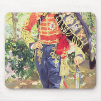 Portrait of King Alfonso XIII Mouse Pad