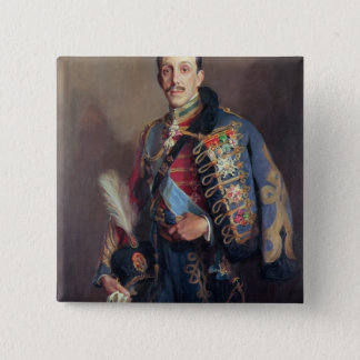 Portrait of King Alfonso XIII of Spain , 1927 Pinback Button