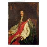 Portrait of King Charles II, c.1660-65 Card