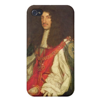 Portrait of King Charles II, c.1660-65 Case For iPhone 4