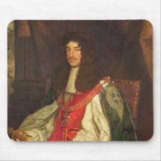 Portrait of King Charles II, c.1660-65 Mousepad