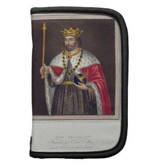 Portrait of King Edward II (1284-1327) Founder of Organizer