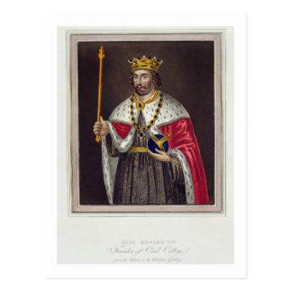 Portrait of King Edward II (1284-1327) Founder of Postcard