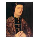 Portrait of King Edward IV of England Postcard
