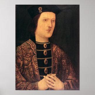 Portrait of King Edward IV of England Poster