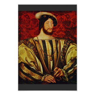 Portrait Of King Francis I Of France,  By Clouet J Poster