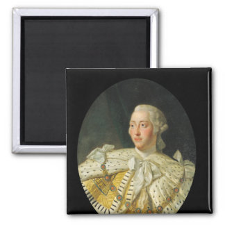Portrait of King George III  after 1760 Magnet