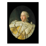 Portrait of King George III  after 1760 Postcard
