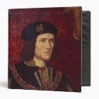 Portrait of King Richard III Binder