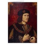 Portrait of King Richard III Card