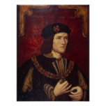 Portrait of King Richard III Poster