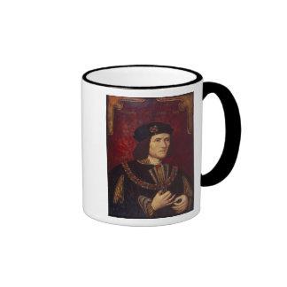 Portrait of King Richard III Ringer Mug