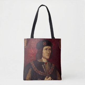 Portrait of King Richard III Tote Bag