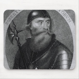 Portrait of King Robert I of Scotland Mouse Pad