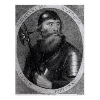 Portrait of King Robert I of Scotland Postcard