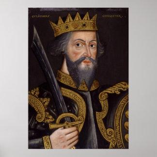 Portrait of King William I The Conqueror Posters