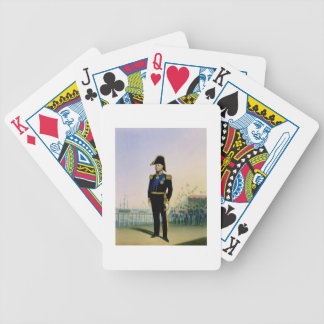 Portrait of King William IV (1765-1837) plate 14 f Bicycle Playing Cards