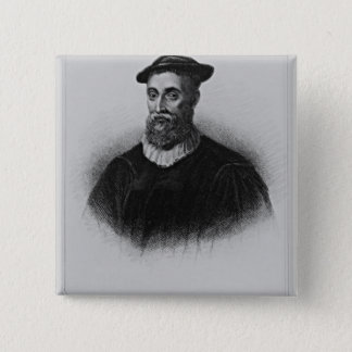 Portrait of Knox from 'Lodge's British Portraits' Pinback Button