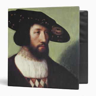 Portrait of Kristian II 3 Ring Binder