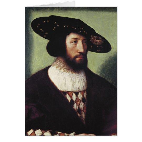 Portrait of Kristian II Card