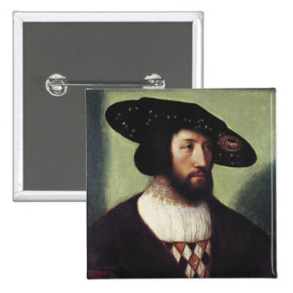Portrait of Kristian II Pinback Button