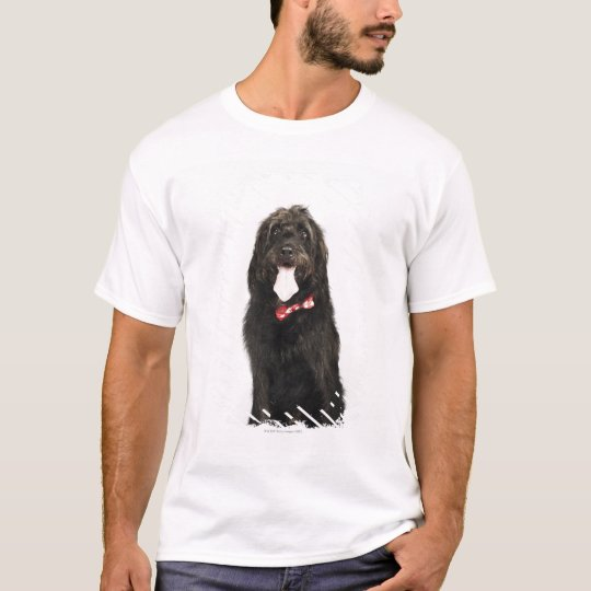 Portrait of Labradoodle dog T-Shirt
