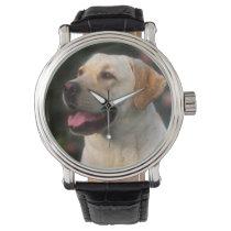 Portrait Of Labrador Retriever, Hilton Wrist Watch