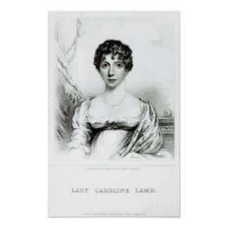Portrait of Lady Caroline Lamb Poster