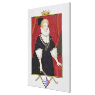 Portrait of Lady Catherine Grey (c.1538-1668) Coun Canvas Print