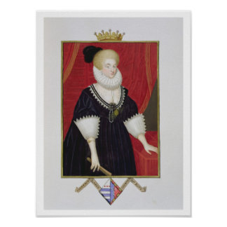 Portrait of Lady Catherine Grey (c.1538-1668) Coun Poster