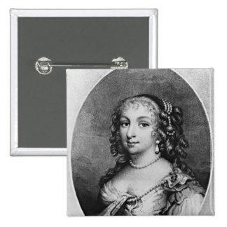 Portrait of Lady Denham Pinback Button